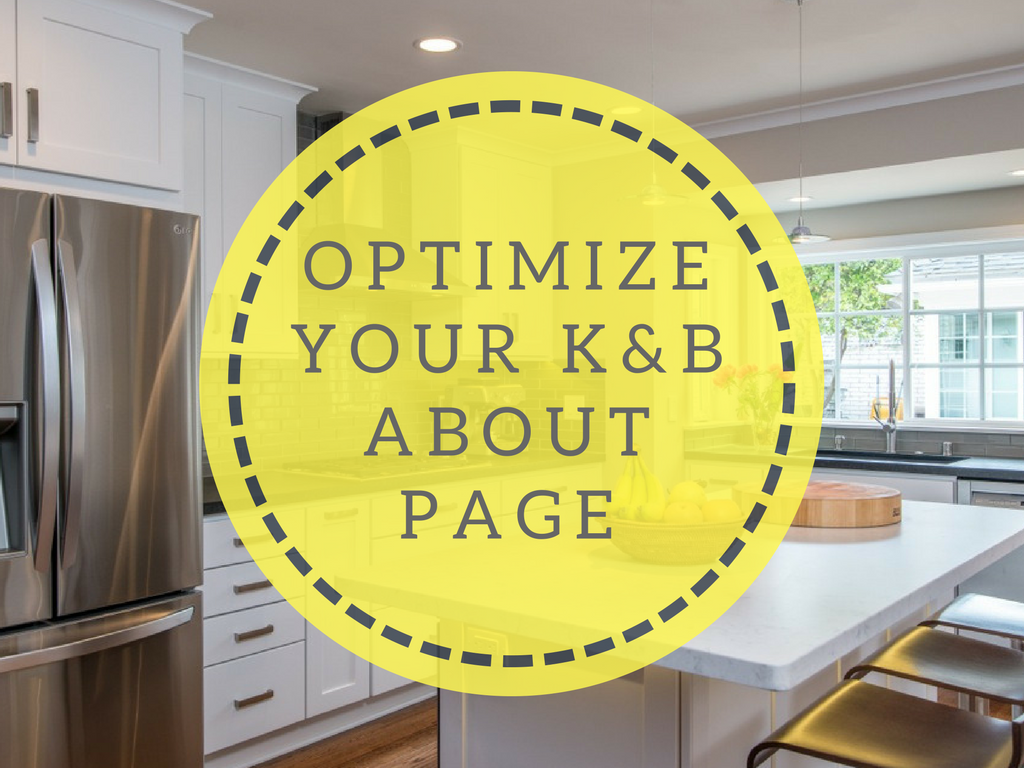 How To Optimize Your K&B Website About Page
